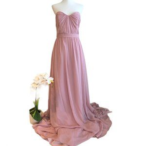 Alfred Angelo, NWT, Strapless Pink Formal Dress.
